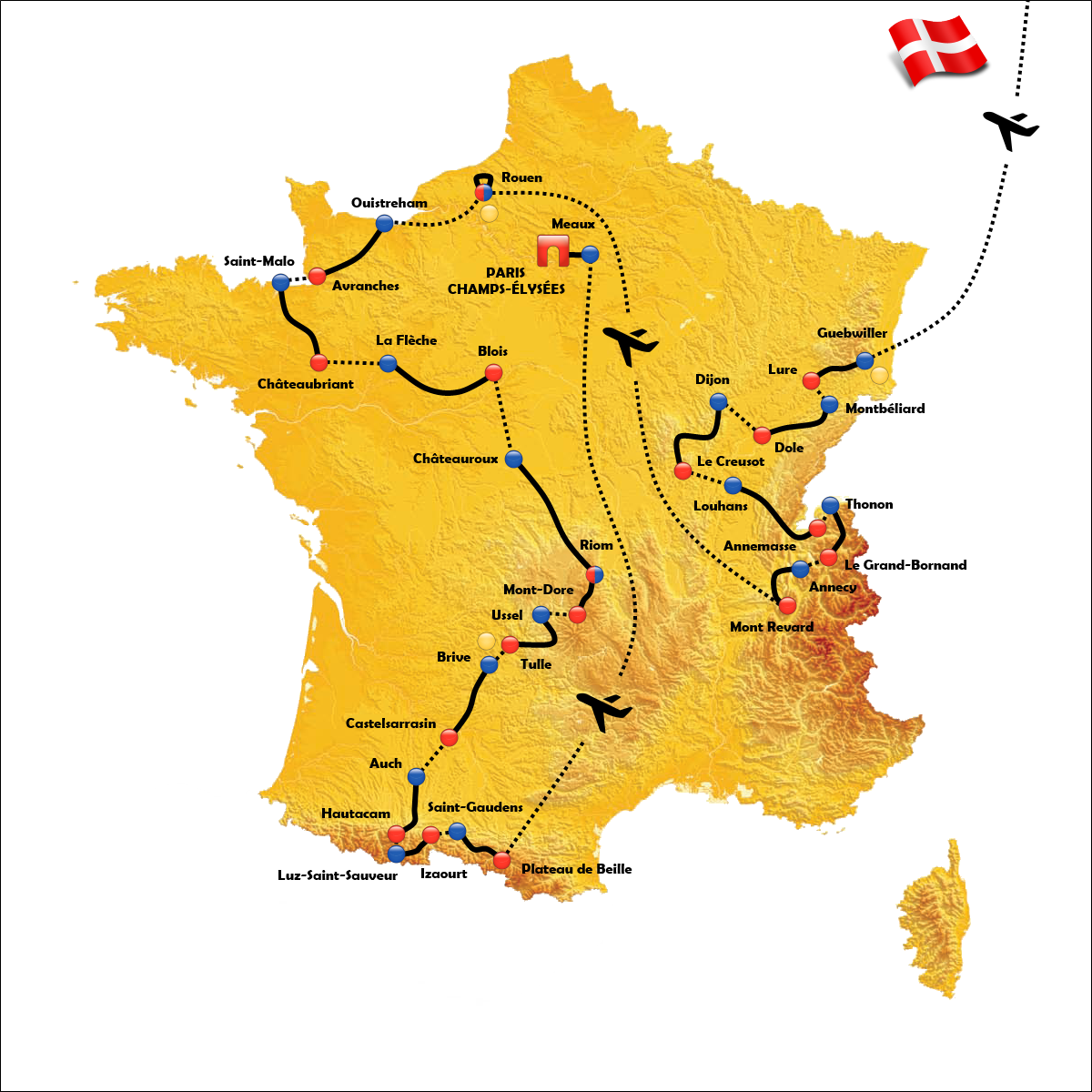 Tour De France 2021 Teams