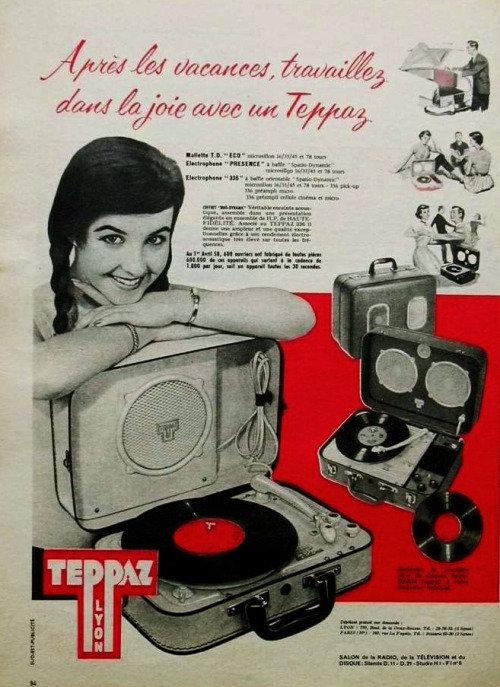 Les tournes-disques TEPPAZ 191005115848523707