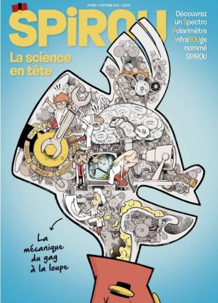 Le Journal de Spirou - 9 Octobre 2019