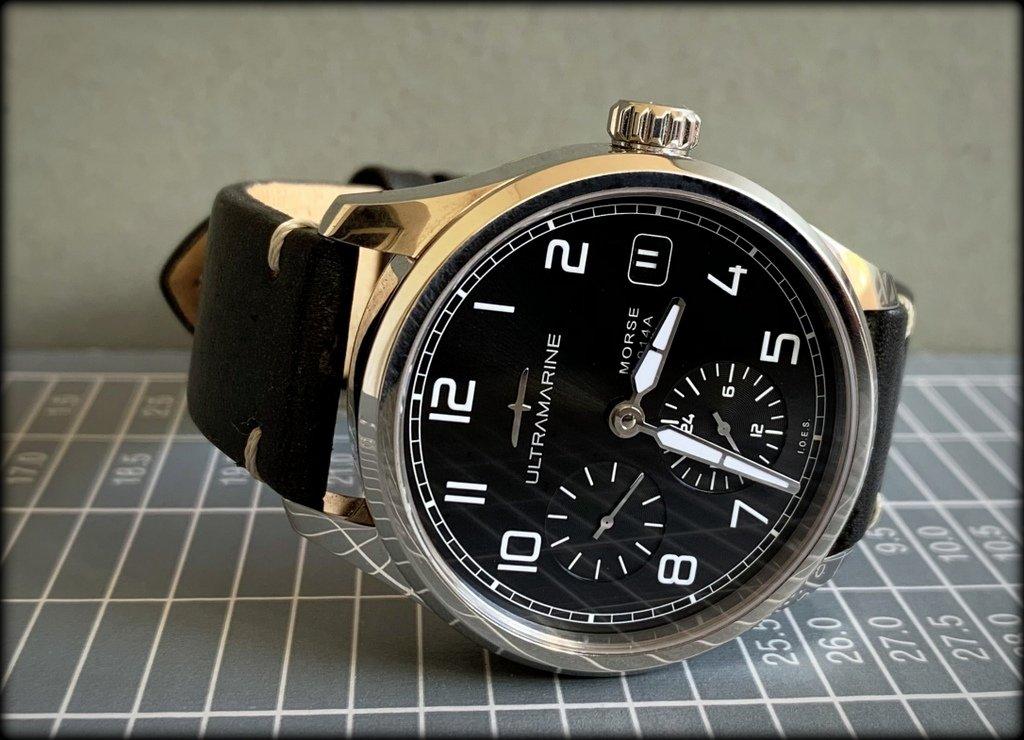 ULTRAMARINE Morse 9141B - Conçue pour ceux qui aiment les vraies montres (tome2) 19101104021950781