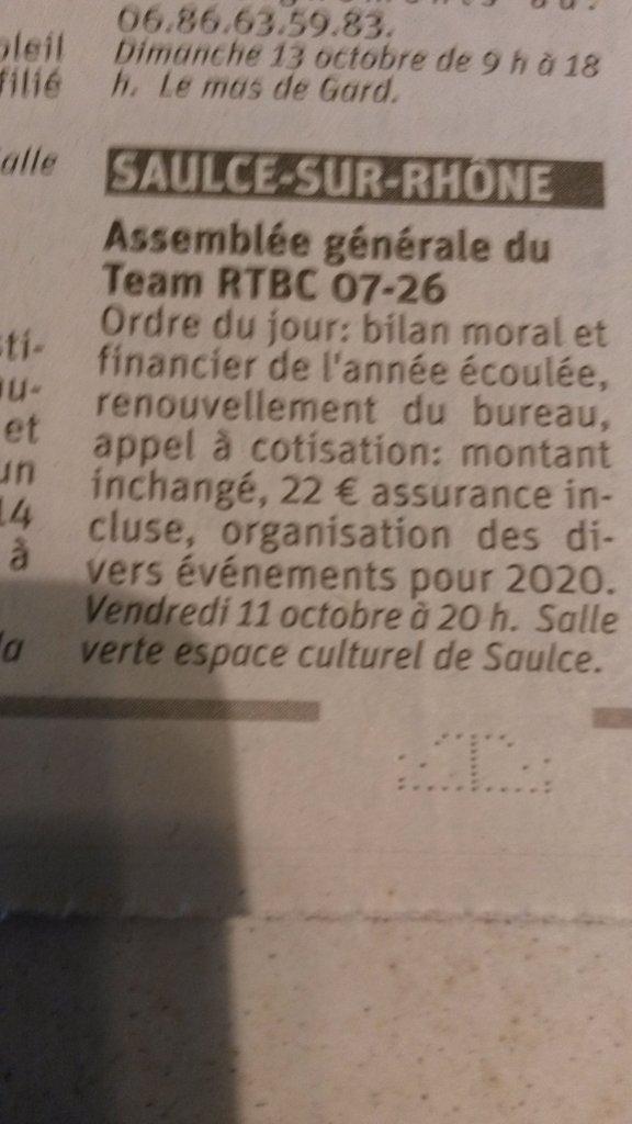 [26] Assemblée générale du Team RTBC 07-26 vendredi 11octobre 2019 Saulce sur Rhône 191011083756644441
