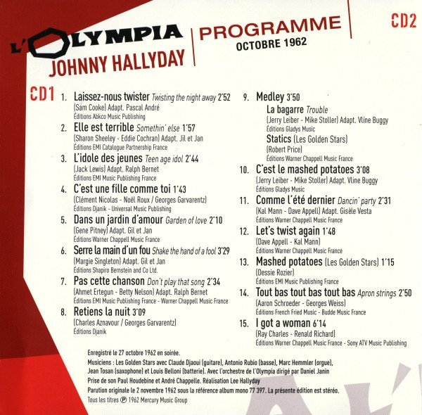 Johnny, un soir à l'Olympia le 1er Décmbre 2019 - Page 5 191011113619447967