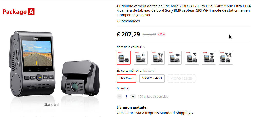 vifo a129 pro duo - pack A