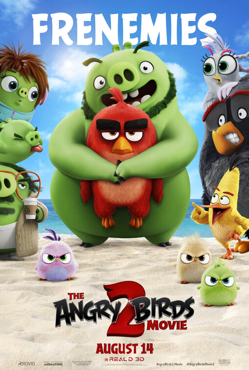 The Angry Birds Movie 2 poster image