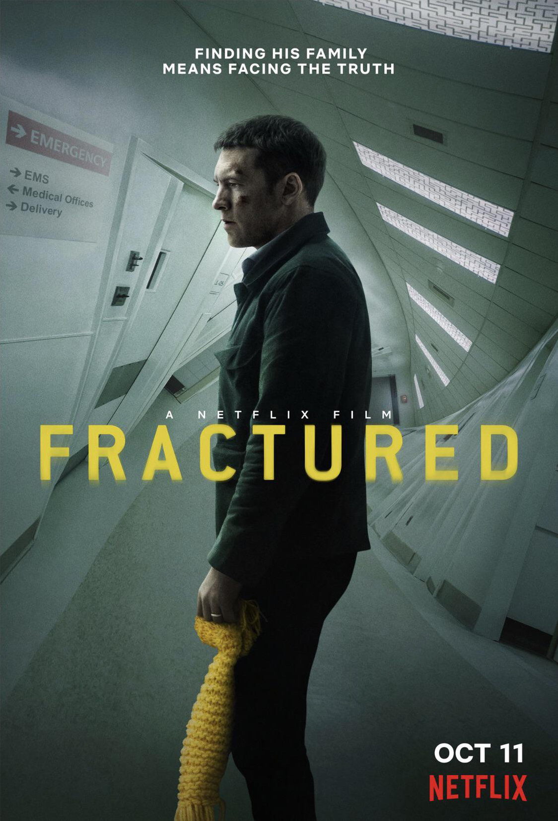 Fractured poster image