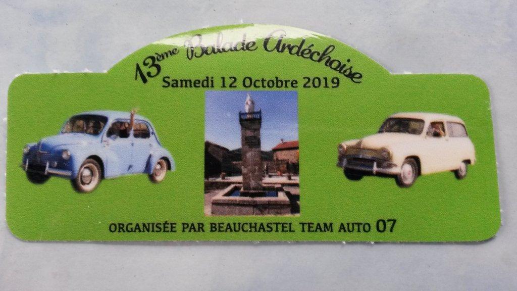 [07] 13ème balade Ardéchoise - St Georges les bains 191013050659240871
