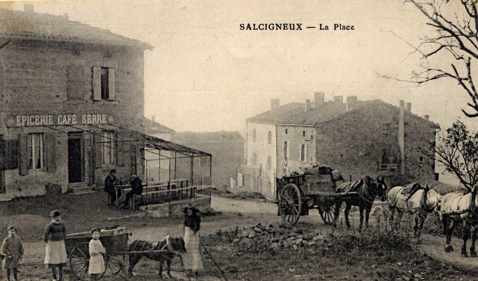 164 . Salcignuex,la Place