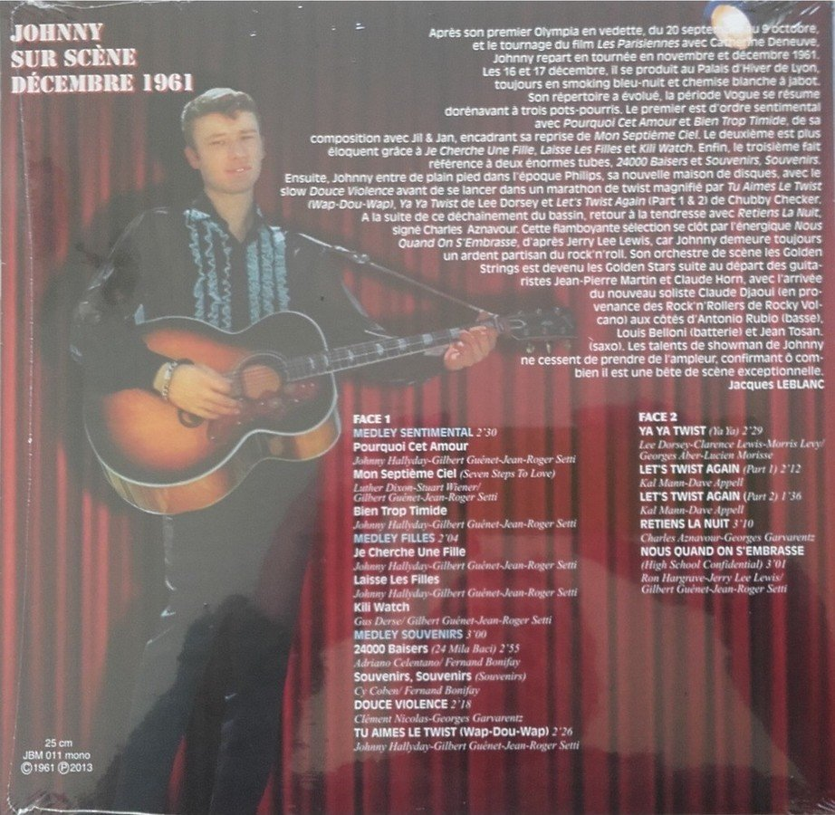 "25CM-33 tours ""Gone Johnny Gone"" édité par BIGBEATRECORDS 191023122606654024"