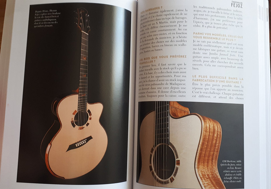 Livre Paroles & Guitares de Luthiers - éditions Ex-Aequo 191028014312222321
