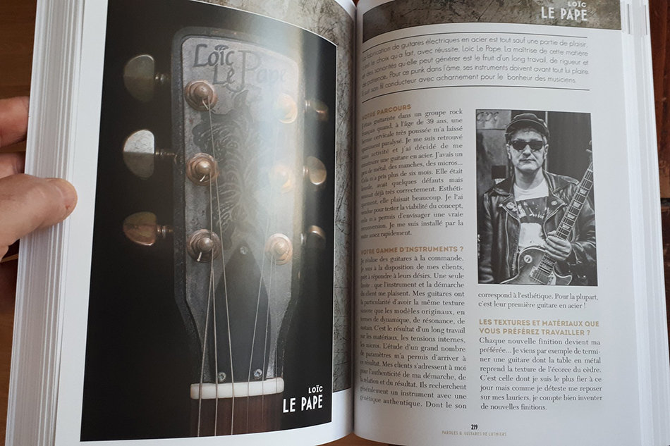 Livre Paroles & Guitares de Luthiers 191028014312789537