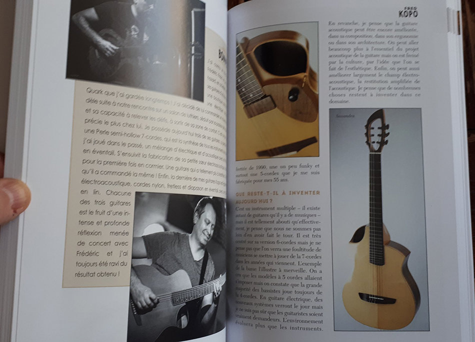 Livre Paroles & Guitares de Luthiers 191028014313177450