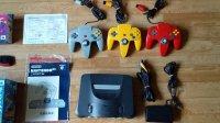 VDS Lot Console Nintendo 64 Jap+11 Jeux... Mini_191028101153447370