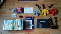 VDS Lot Console Nintendo 64 Jap+11 Jeux... Mini_1910281011536231