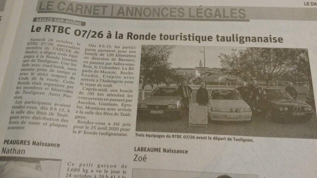 [26] 26/10/2019 - Ronde touristique au départ de Taulignan - Page 3 191029081418785117