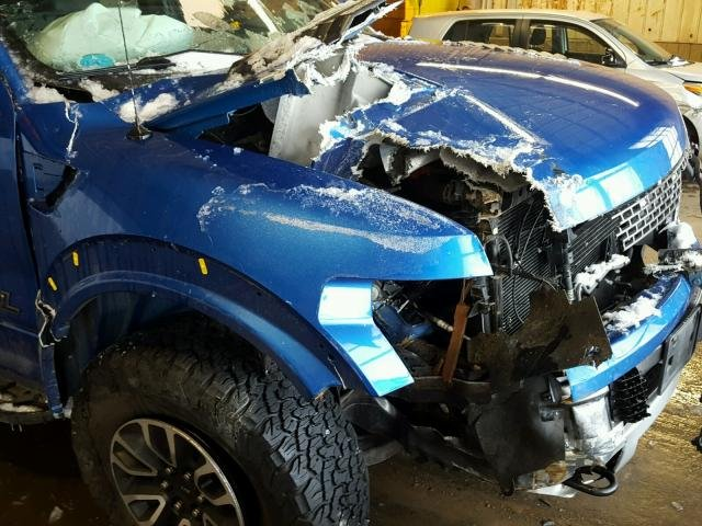 Ford F150 Accidenté