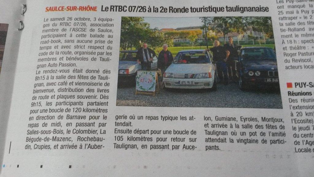 [26] 26/10/2019 - Ronde touristique au départ de Taulignan - Page 4 191031110120762553