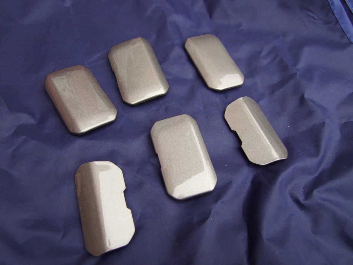 [cloturé] Vends lot de 6 caches gris pour support valise : 50€ FDPI 191101091138369124
