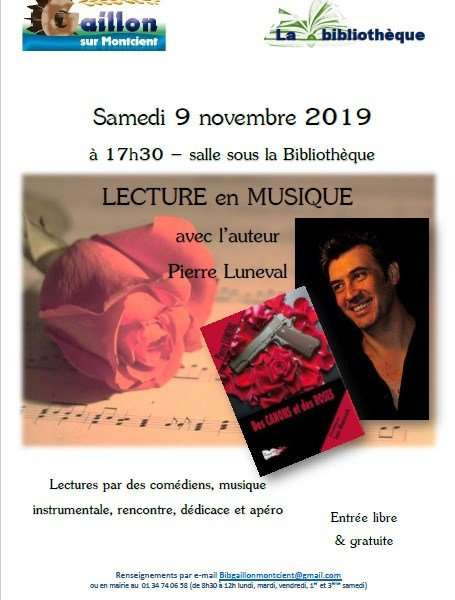 Lecture Gaillon sur Montcient