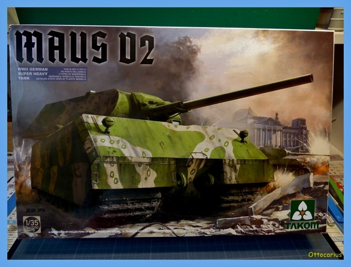 Panzer VIII MAUS type 205  CYBER HOBBY 1/35 ème - Page 4 191104064520573176