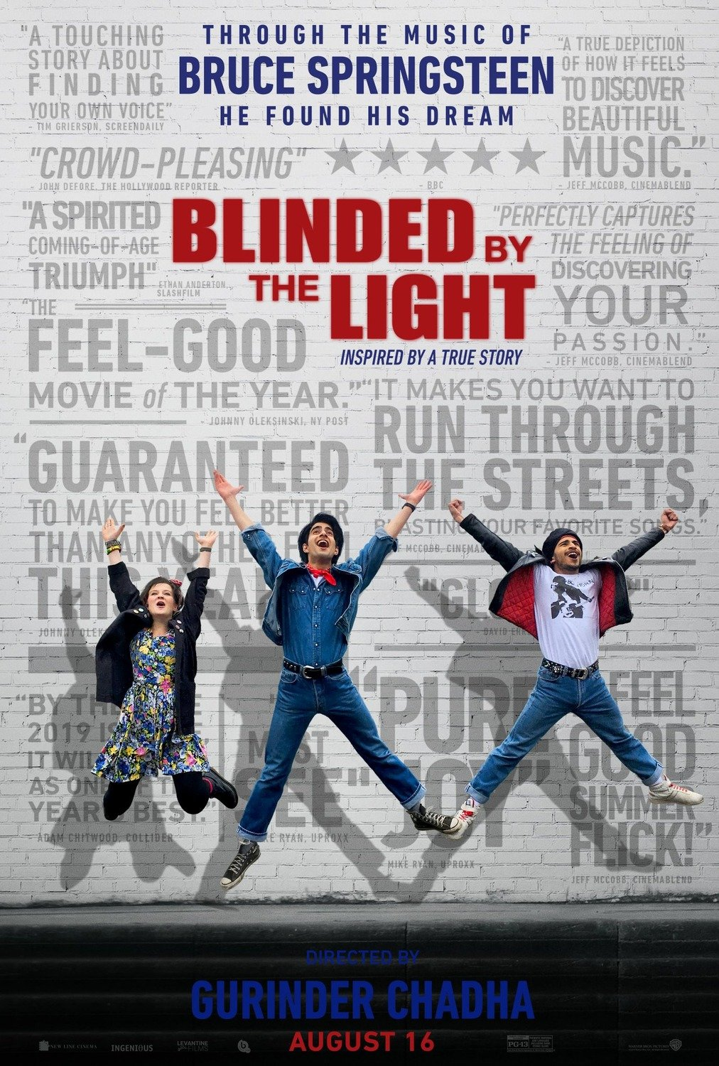 Blinded by the Light poster image