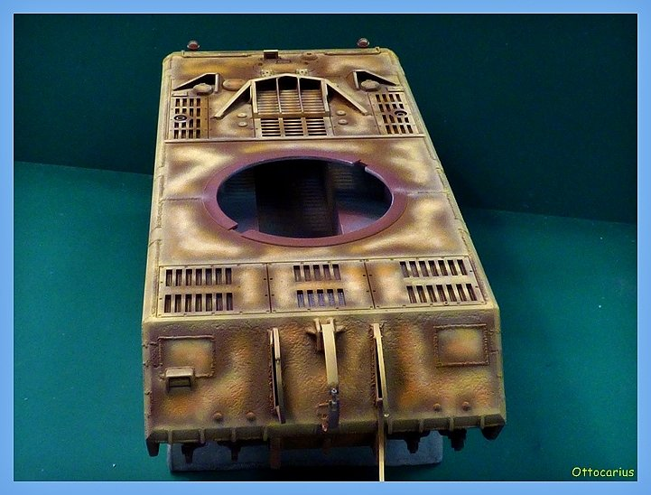Panzer VIII MAUS type 205  CYBER HOBBY 1/35 ème - Page 5 191108070645670125