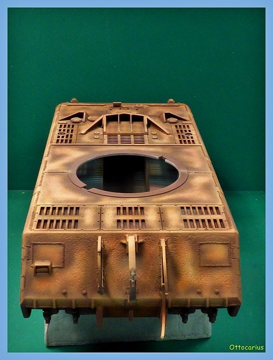 Panzer VIII MAUS type 205  CYBER HOBBY 1/35 ème - Page 5 191108072225814631