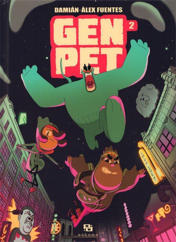 GenPet - Tome 2 : Nouveaux héros