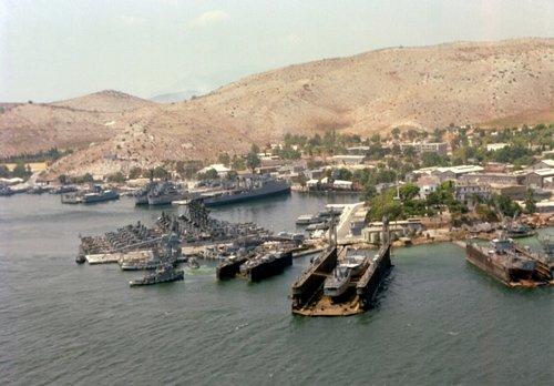 base navale Salamine (base corporatiste de Pavers).