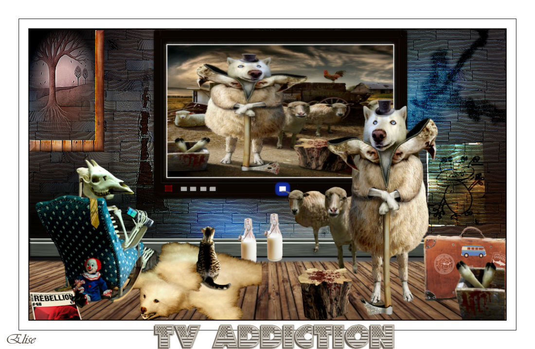 TV addiction  psp 191112095020314872