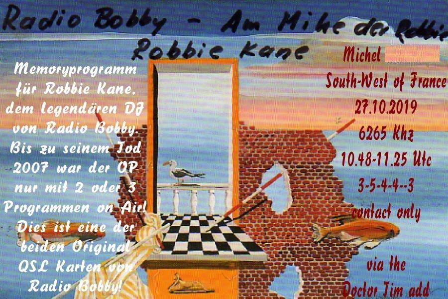 eQSL de Radio Bobby 191113100256837418