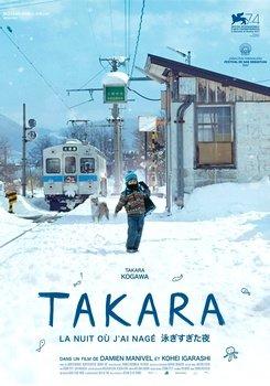 Takara. la nuit où j'ai nagé