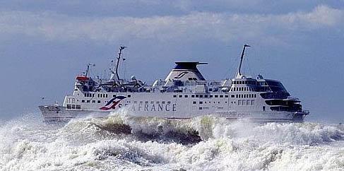 Ferry par grostemps