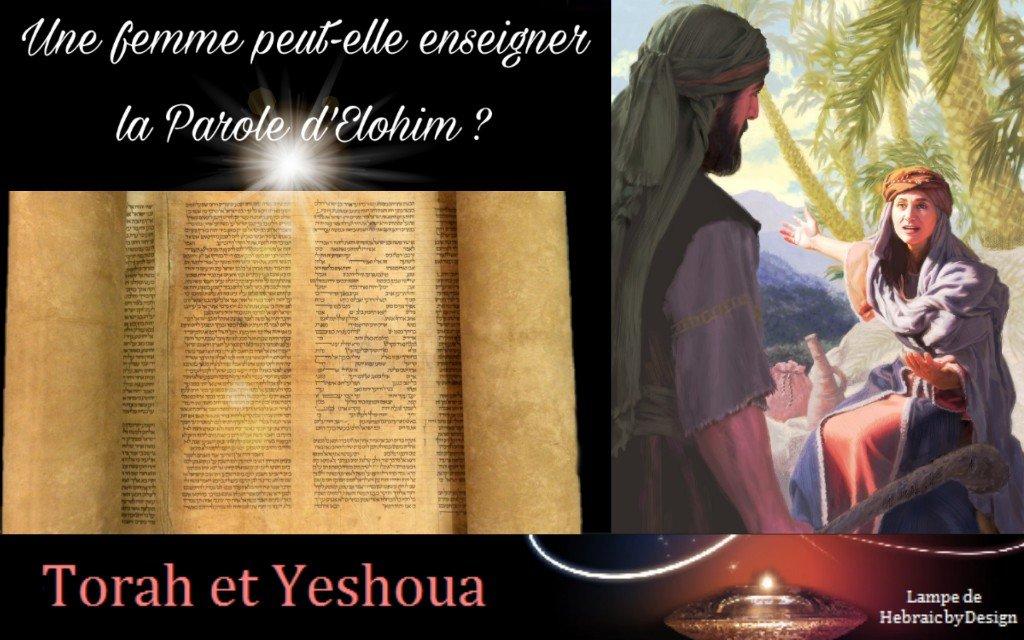 Une femme peut-elle enseigner la Parole d'Elohim ?  191126123723855767