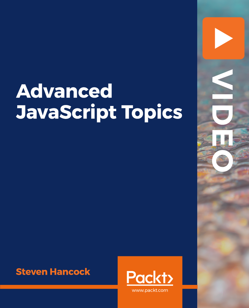 Poster for Advanced JavaScript Topics