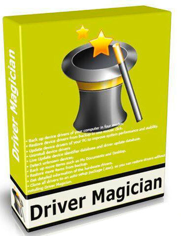 Poster for GoldSolution Software Driver Magician