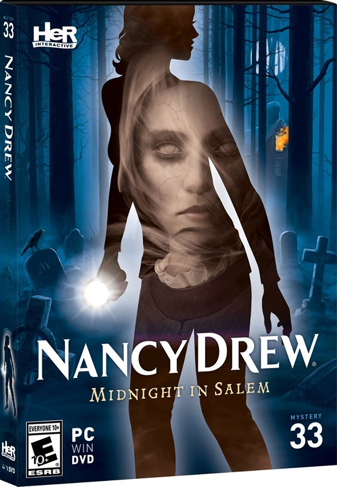 Poster for Nancy Drew: Midnight in Salem
