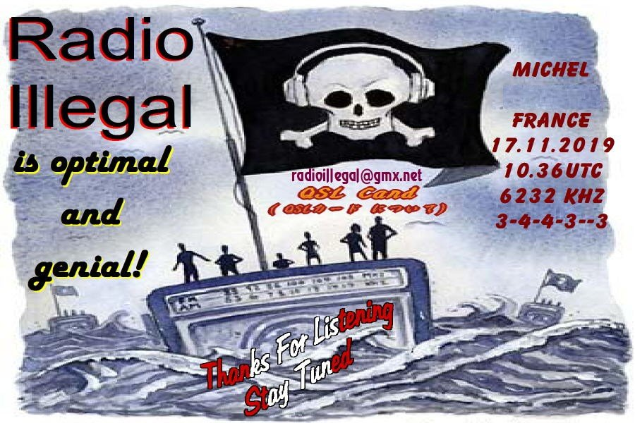 eQSL de Radio Illegal 191203095052233663