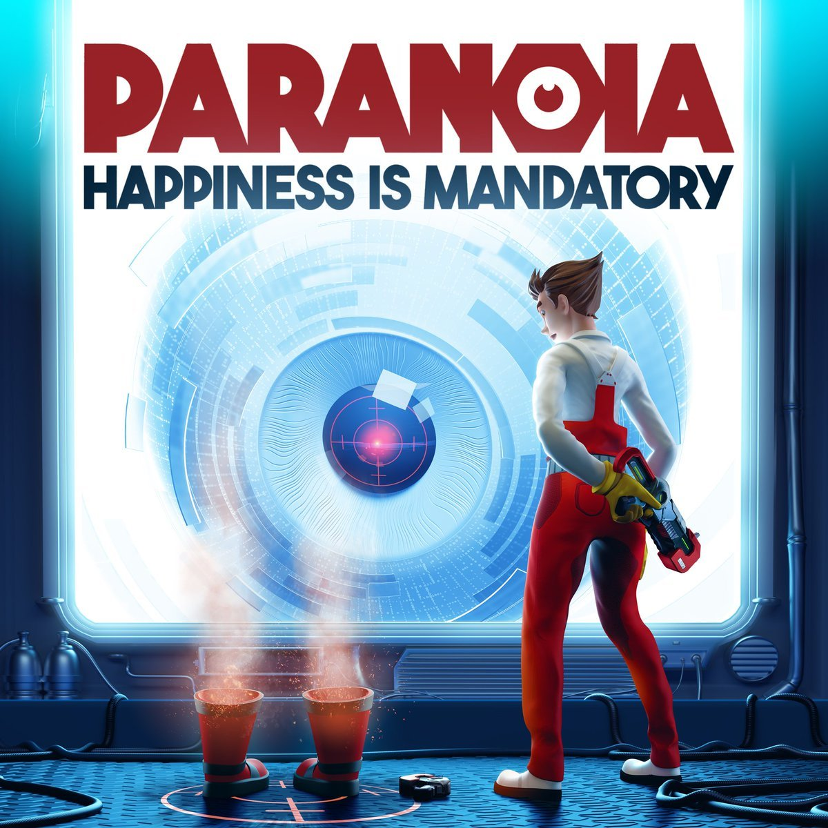 Poster for Paranoia: Happiness is Mandatory