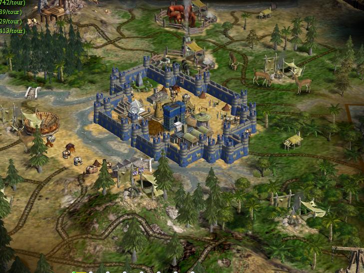 Murailles de Babylone - un peu plus imposant et prestigieux