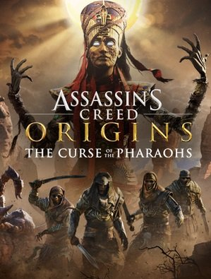 Poster for Assassins Creed Origins - The Curse Of The Pharaohs