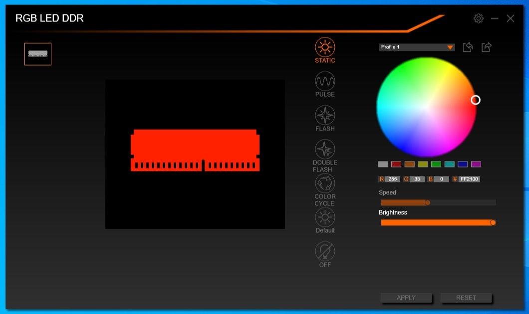 1 - RGB LED DDR