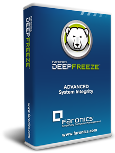 Poster for Faronics Deep Freeze
