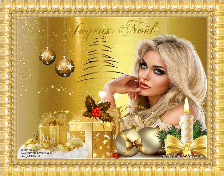 Défi du 14 Décembre / Cadeau Noël or 191218045052869245