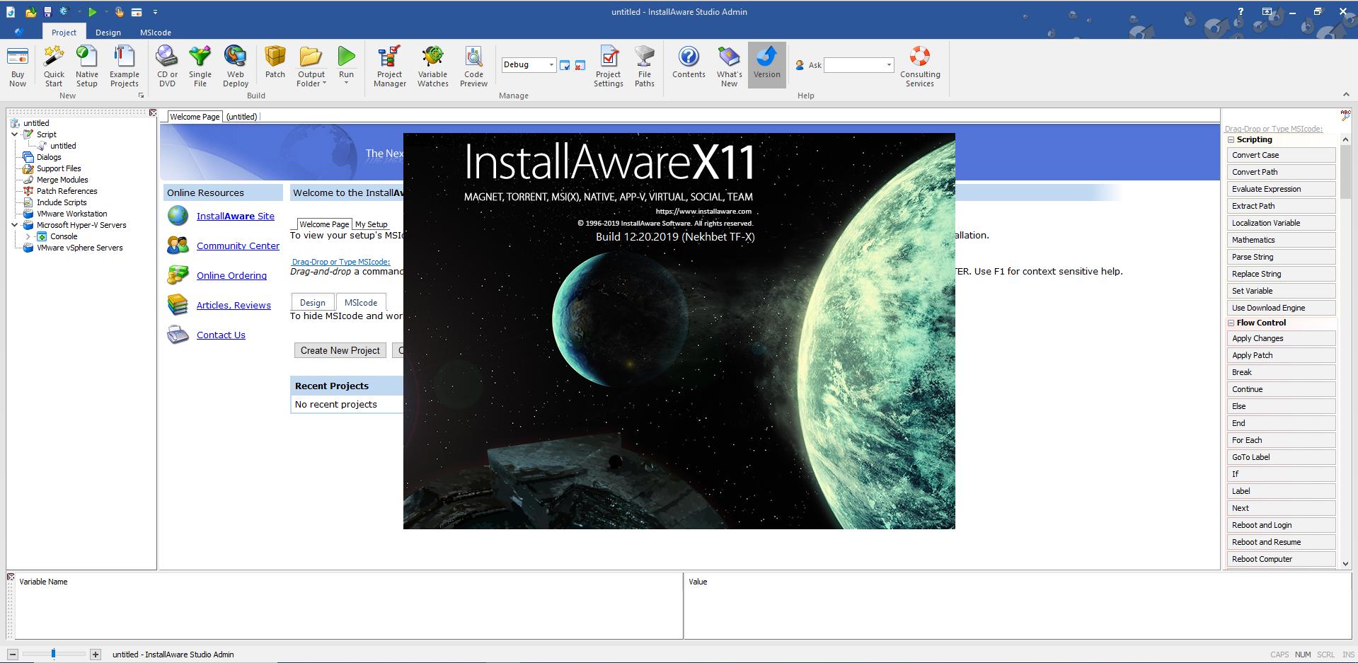 InstallAware Studio Admin X12 v29.05.00.2020 (x64)-P2P