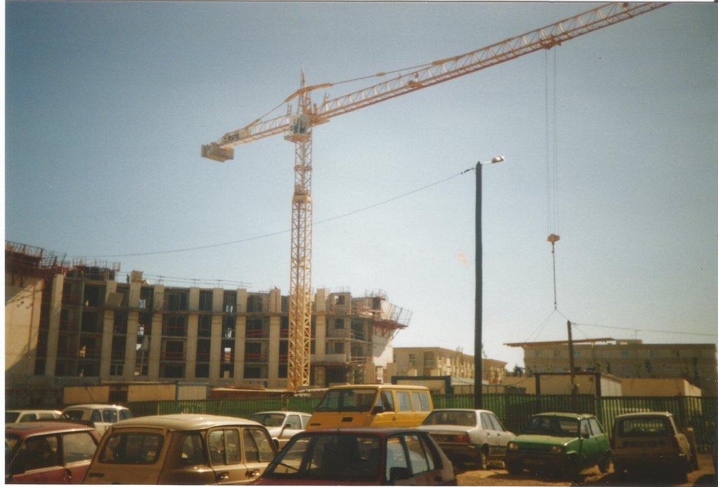 BPR à Antigone Montpellier Mai 1990