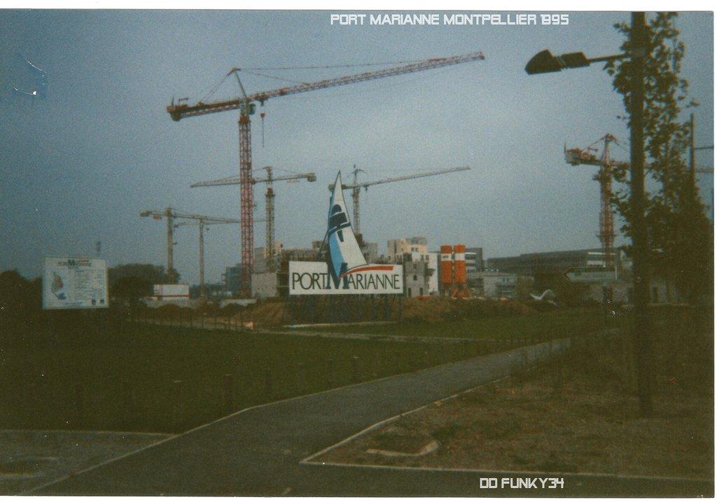 Chantier Port Marianne 1994