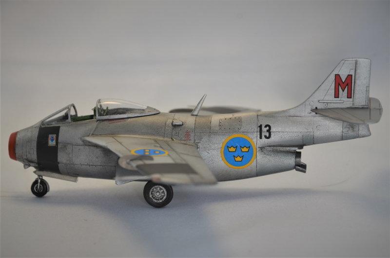 Saab J-29 Tunnan - 1/72 - Tarangus 191224032726588340