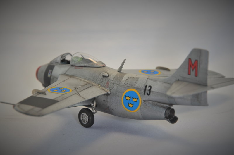 Saab J-29 Tunnan - 1/72 - Tarangus 191224032726740751