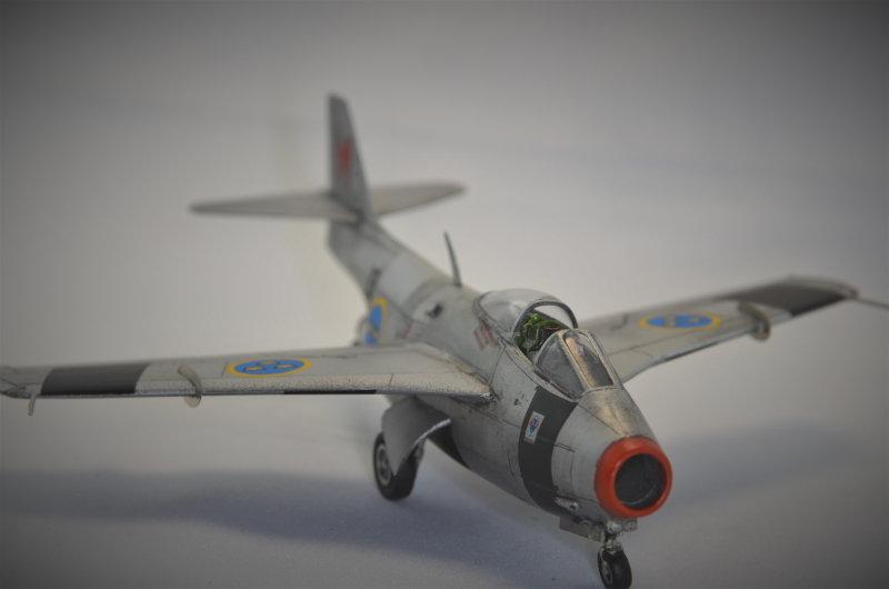Saab J-29 Tunnan - 1/72 - Tarangus 191224032726959455