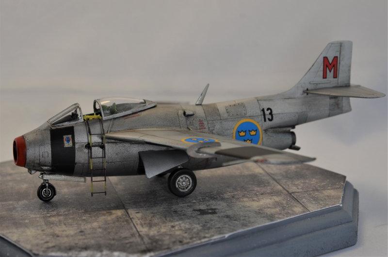 Saab J-29 Tunnan - 1/72 - Tarangus 191224032727214257